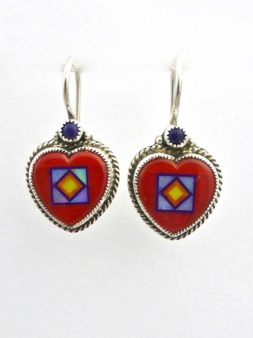Blossomcrown Heart Earrings
