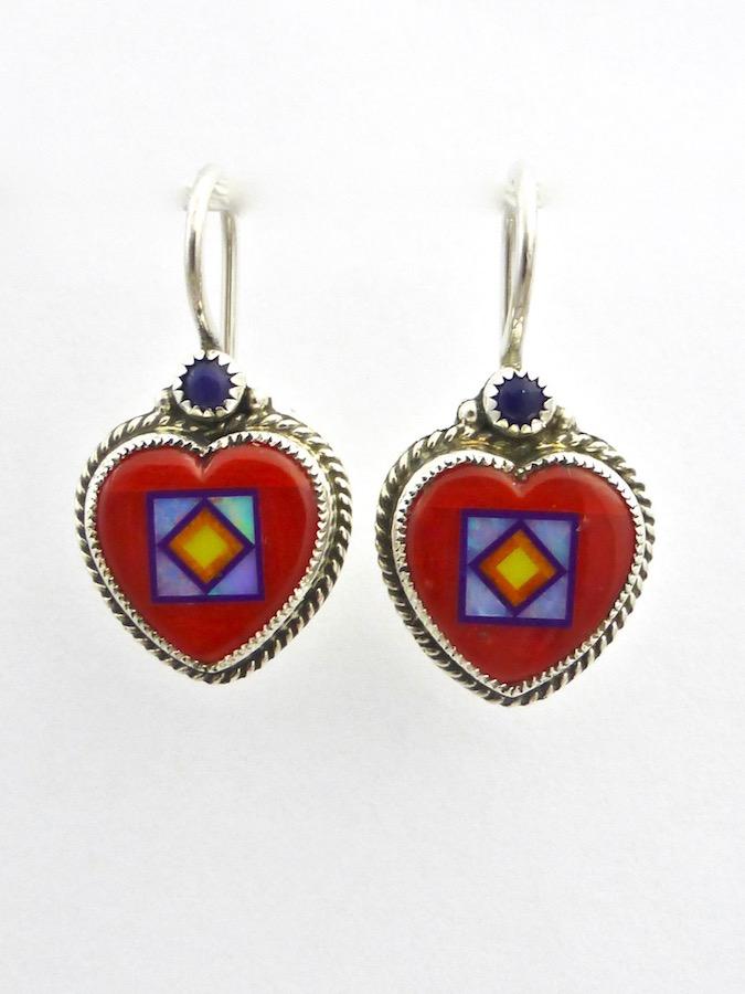 Blossomcrown Heart Earrings