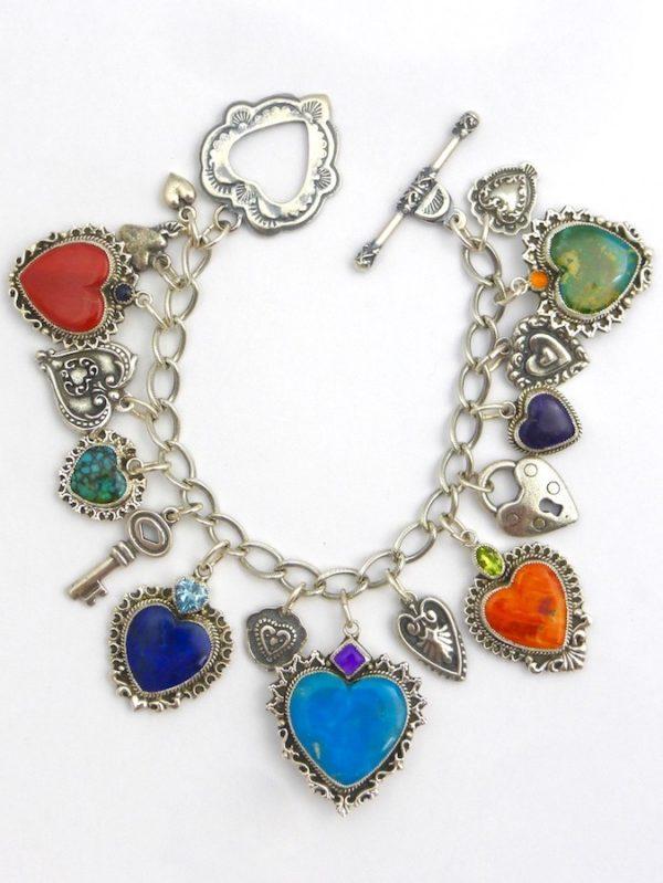 Morningstar Heart Charm Bracelet