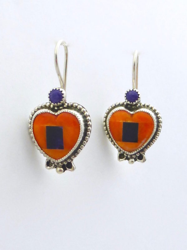 Mosaic Heart Earrings