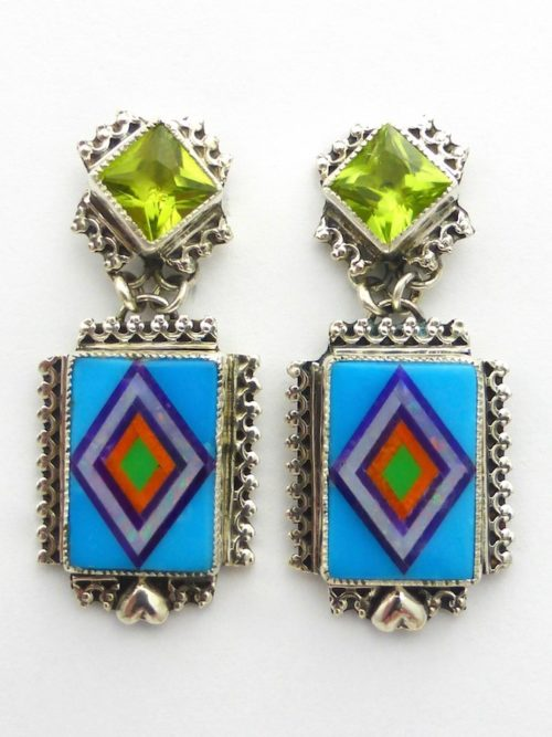 Santa Marta Rectangle Earrings