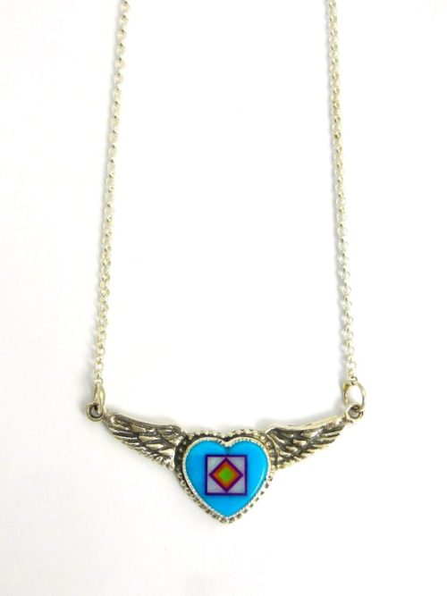 TURQUOISE-ANGEL-HEART-NECKLACE
