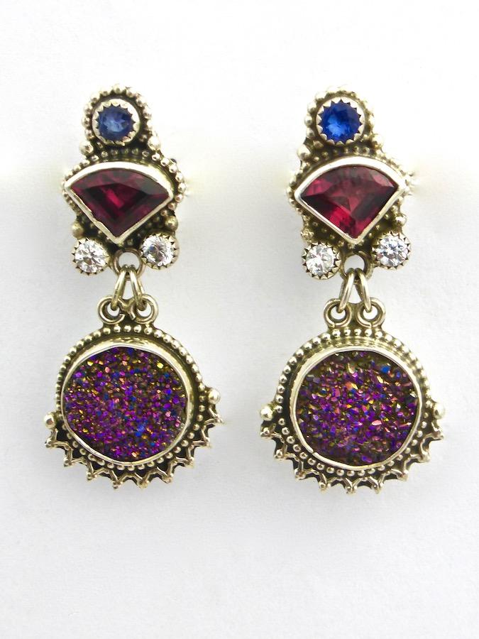 Prism Druzy Earrings