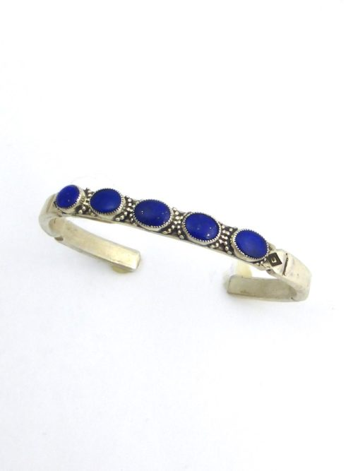 LAPIS 5-OVAL MORNINGSTAR BRACELET