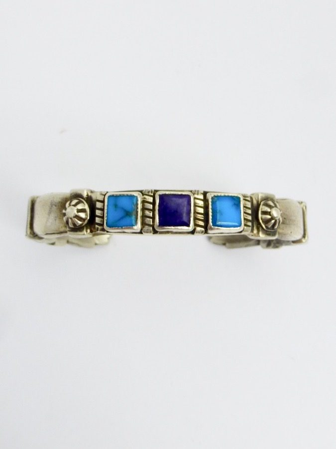 TURQUOISE SUGILITE MORNINGSTAR SQUARE BRACELET