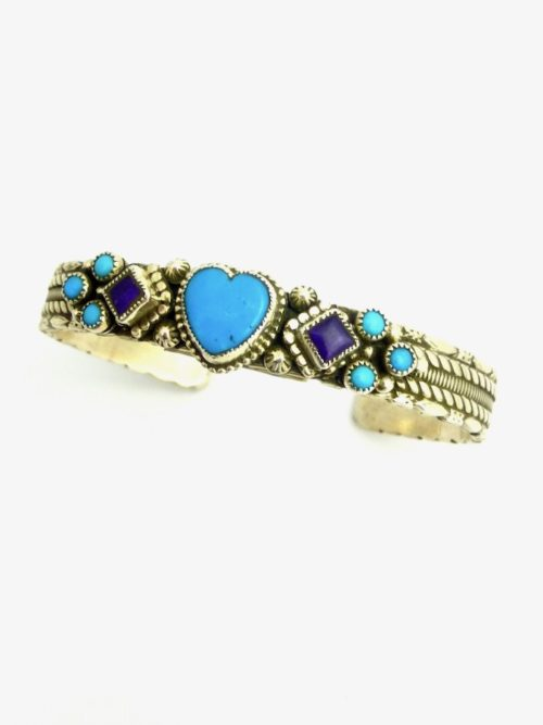 TURQUOISE-MORNINGSTAR-HEART-BRACELET