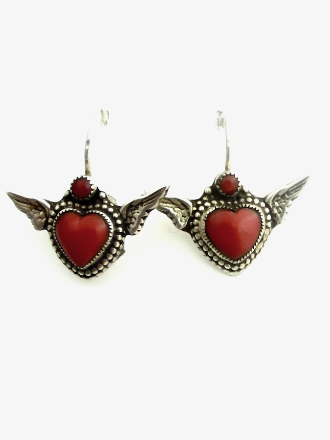 RED-CORAL-WINGED-HEART-EARRINGS