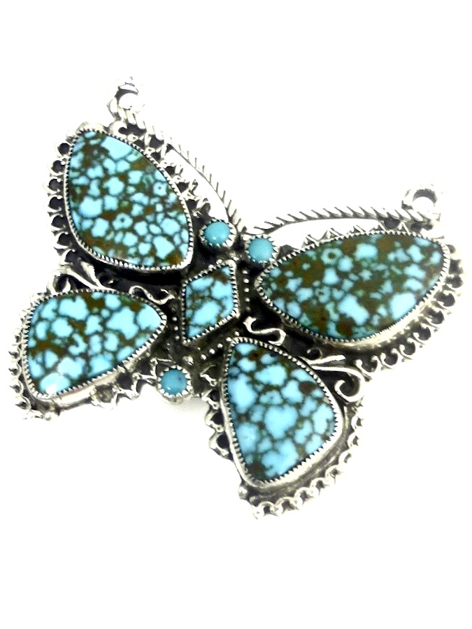 POLYCHROME-TURQUOISE-BUTTERFLY-RING