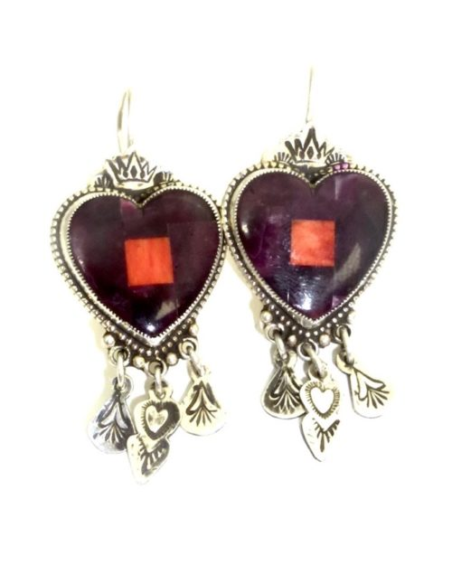 PURPLE-OYSTER-MOSAIC-HEART-EARRINGS