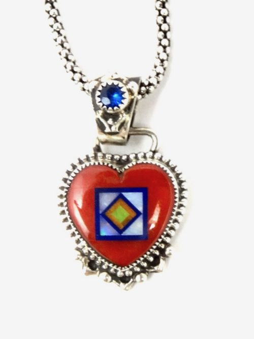 RED-CORAL-BLOSSOMCROWN-HEART-NECKLACE