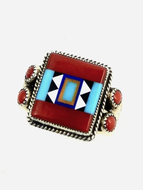 RED-CORAL-SUNANGEL-SQUARE-RING