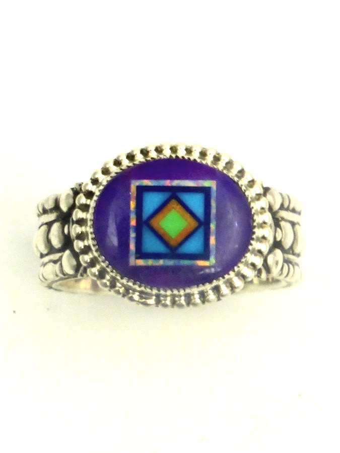 SUGILITE-BLOSSOMCROWN-OVAL-RING