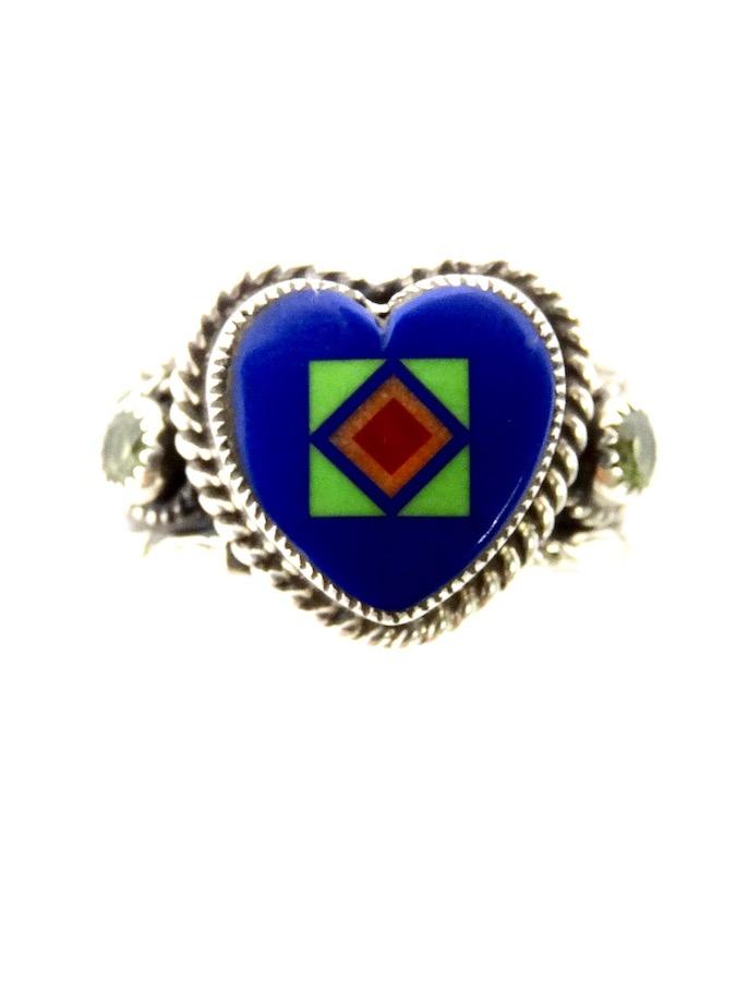 LAPIS-BLOSSOMCROWN-HEART-RING