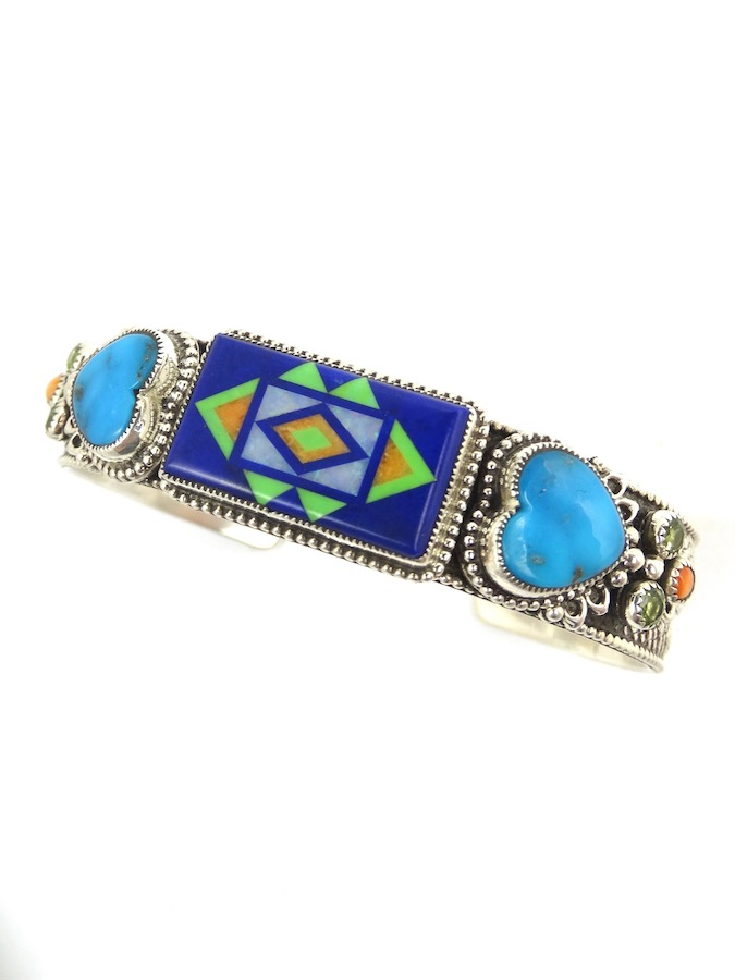LAPIS-SUNANGEL-RECTANGLE-BRACELET