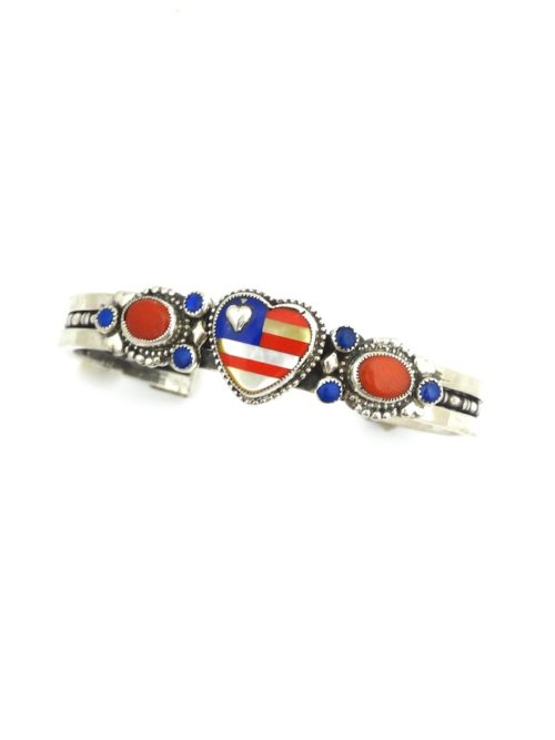PATRIOT-INLAID-HEART-BRACELET