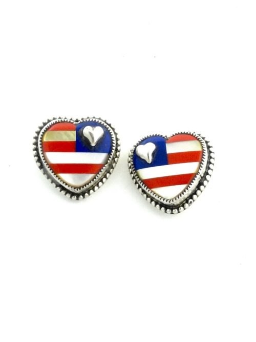 PATRIOT-INLAID-POST-EARRINGS