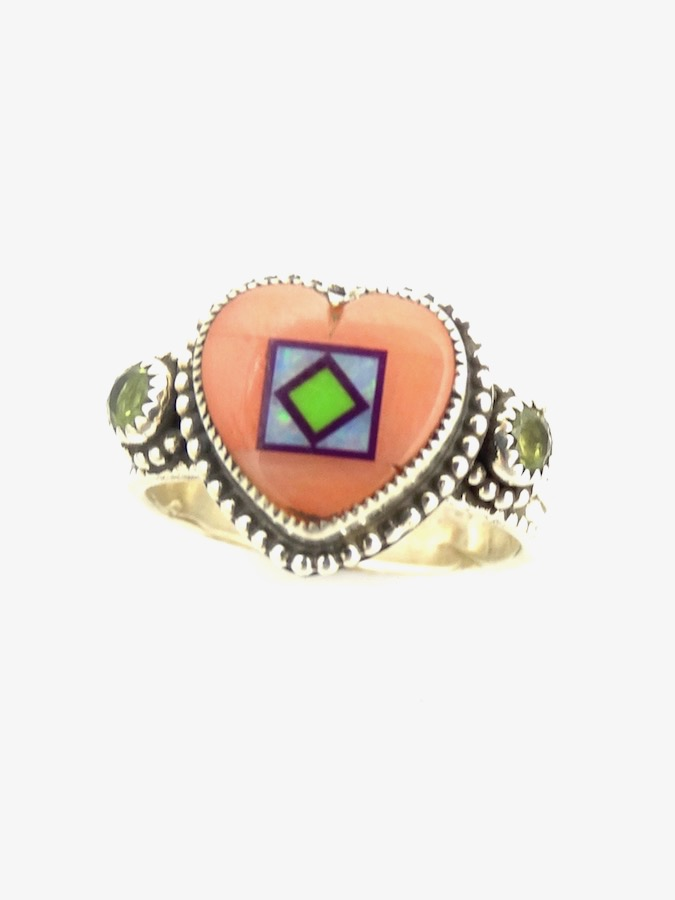 PINK-CORAL-HEART-BLOSSOMCROWN-RING