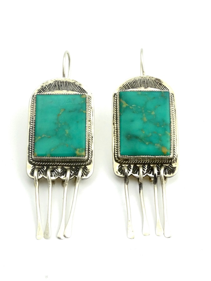 TURQUOISE-RECTANGLE-EARRINGS