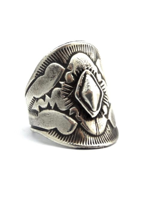 Aldrich -Jewelry-Boho-Ring-Chunky-Sterling-Silver