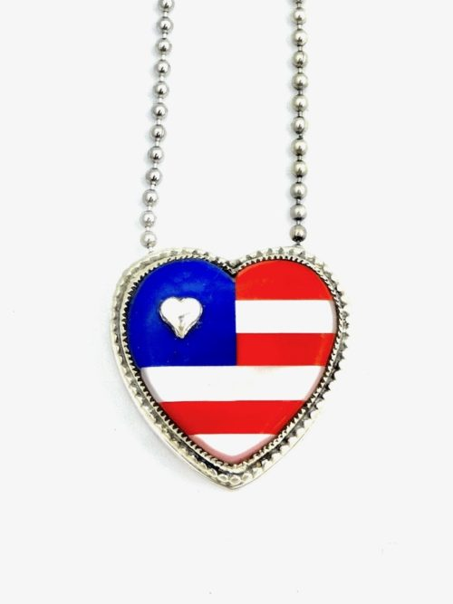 PATRIOT-INLAID-HEART-NECKLACE
