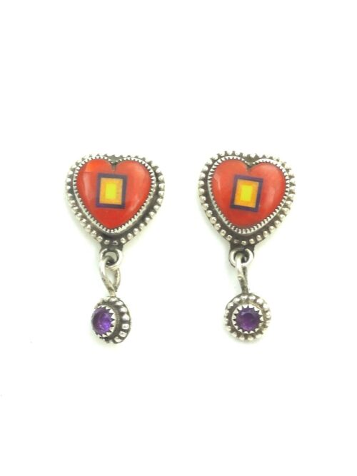 RED-CORAL-SABRE-WING-HEART-EARRINGS