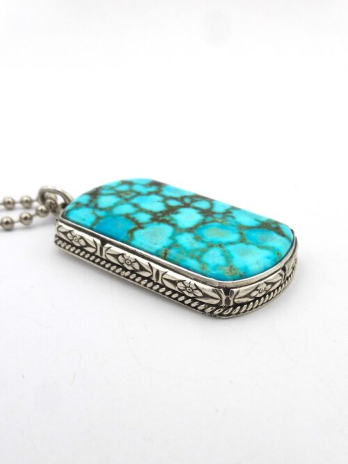 polychrome-turquoise-rectangle-code-talker-pendant