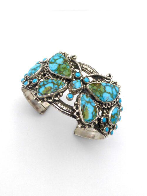 PolyChrome-Turquoise-Butterfly-Bracelet-1