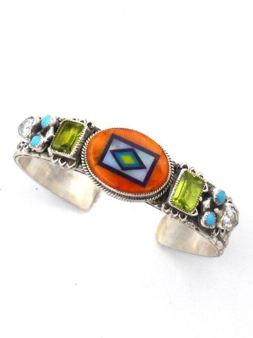 spiny-oyster-oval-coronet-avocet-bracelet